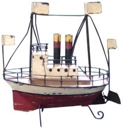 Barco de metal